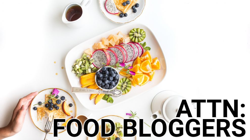 Food Bloggers Anchor Link