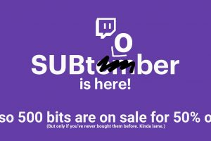 Subtember Subtober and Bits Discount