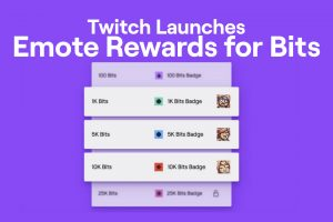 Twitch Emote Rewards for Bits
