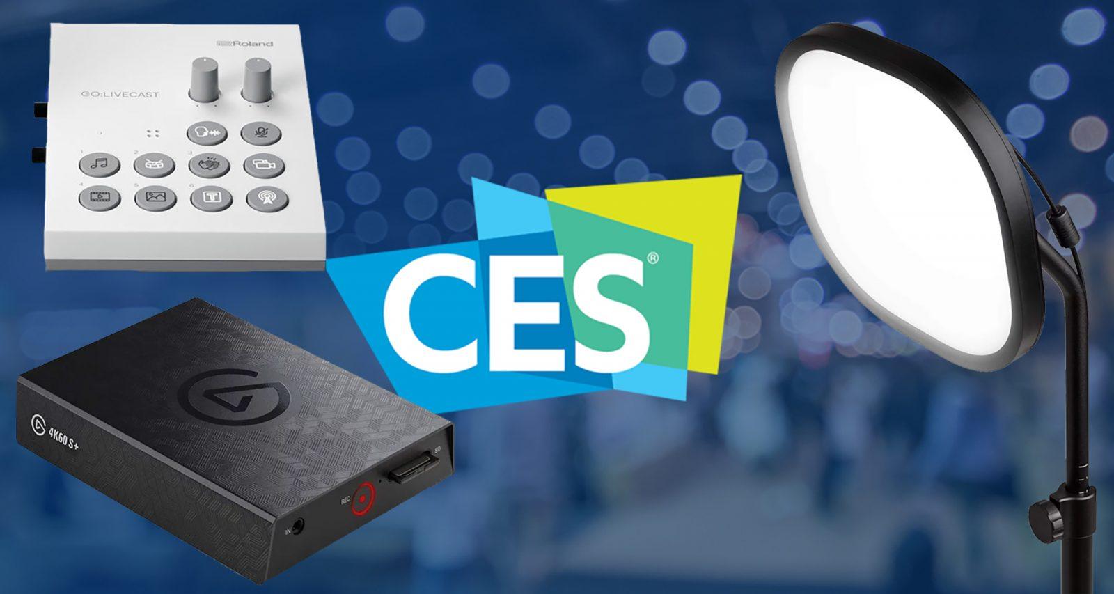 CES 2020 Streamer Gear Announcements