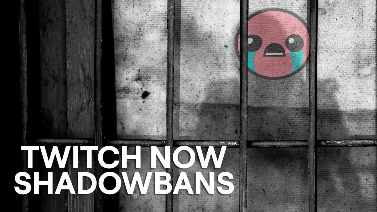 Twitch Shadowbans Trolls Who Create Multiple Accounts