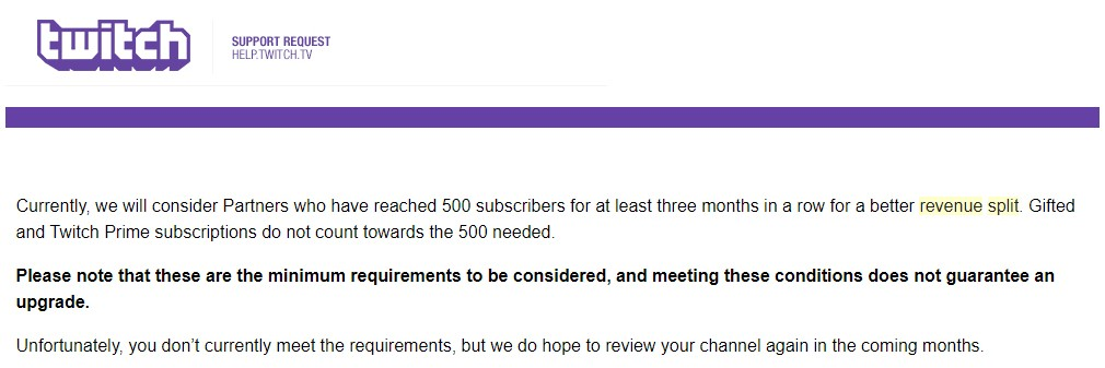 How To Increase Your  Sub Split with Twitch