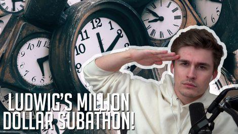 Ludwig's Subathon Million Dollars