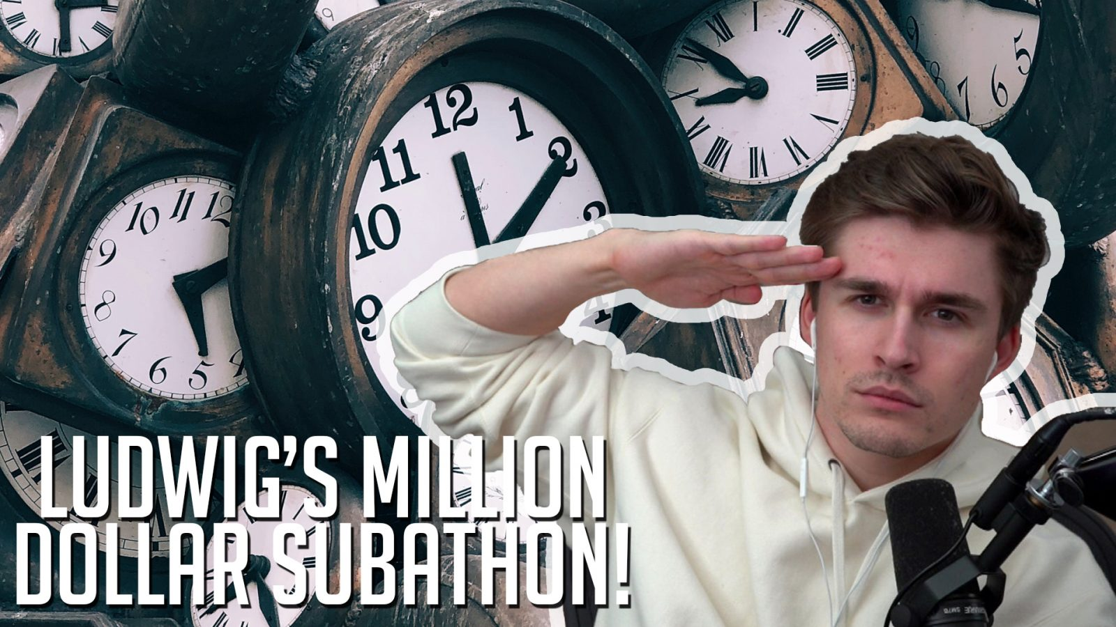 Ludwig's Subathon Million Dollars